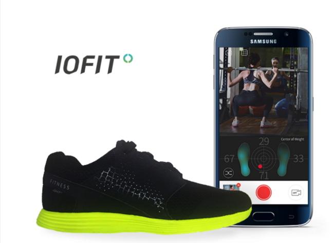 Iofit : les chaussures connectées par Samsung