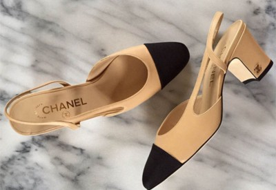 Slingback coco chanel