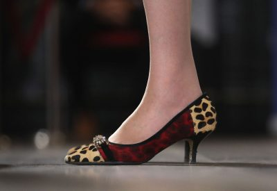 Theresa May chaussure