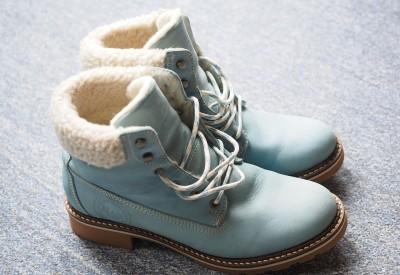 chaussure-hiver-bleu