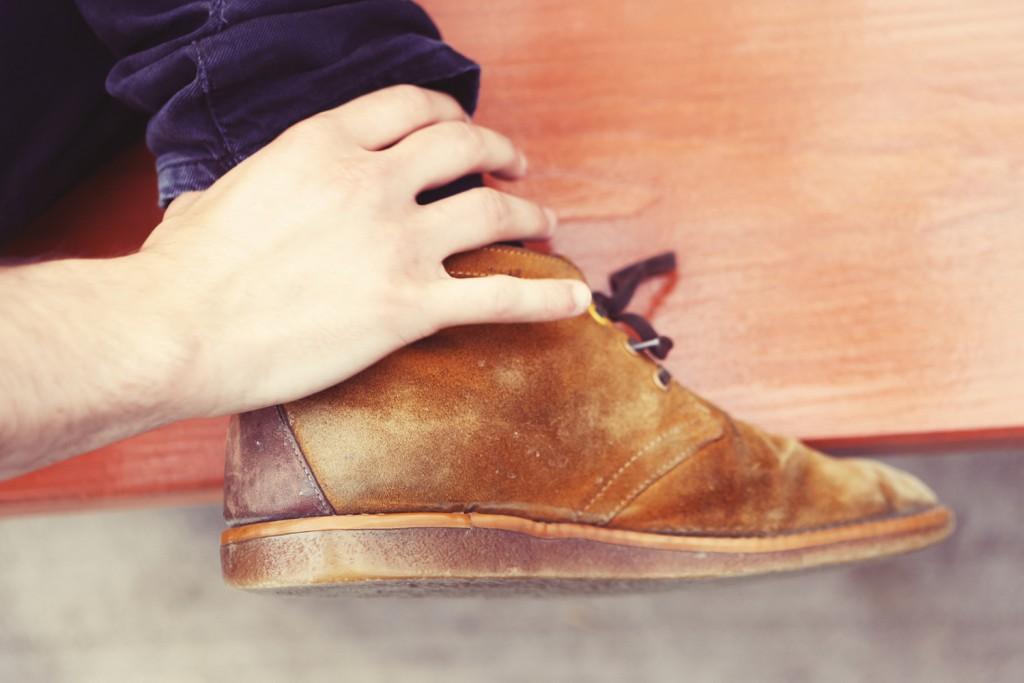 chaussure homme etat propre