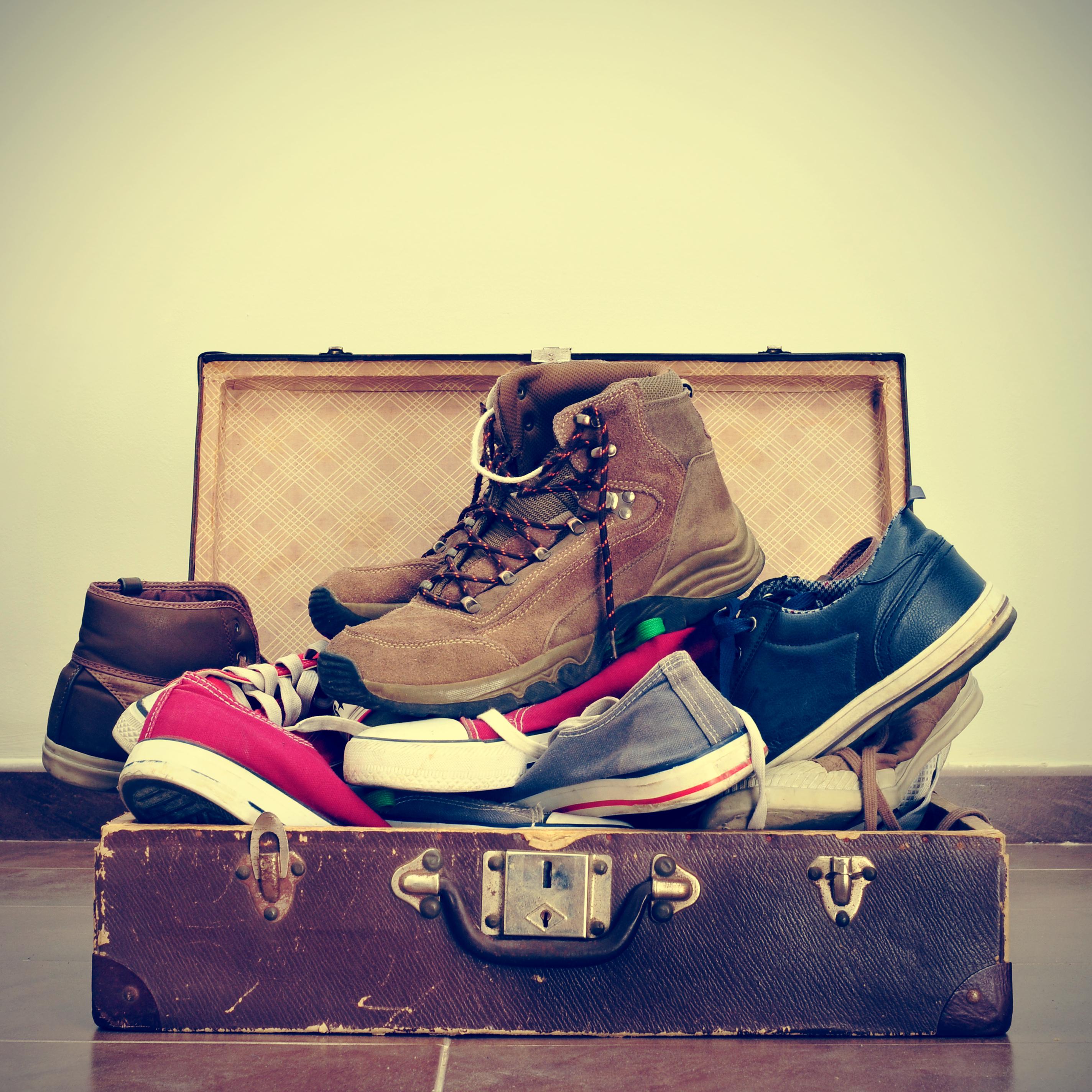 Pensez à recycler les chaussures que vous ne portez plus