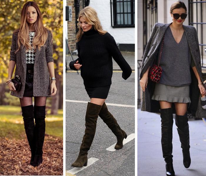 Des idées de looks pour porter les cuissardes en 2016