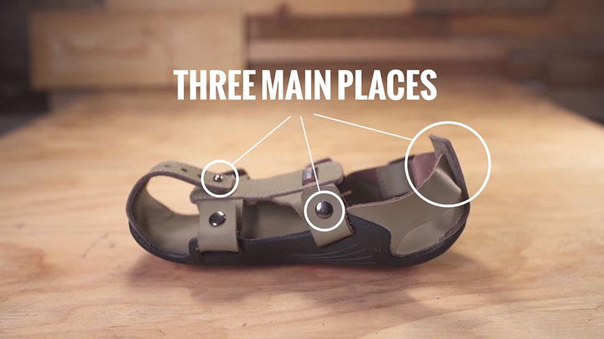 « La chaussure qui grandit » pour les enfants les plus démunis
