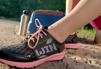 Lenovo se lance dans la chaussure connectée