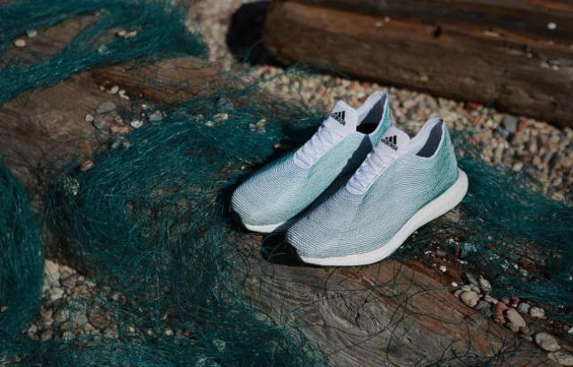 Récupérer les déchets plastiques pour en faire des chaussures, Adidas l'a fait