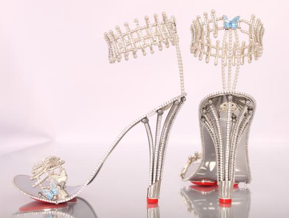 chaussure Beyoncé or diamant 2
