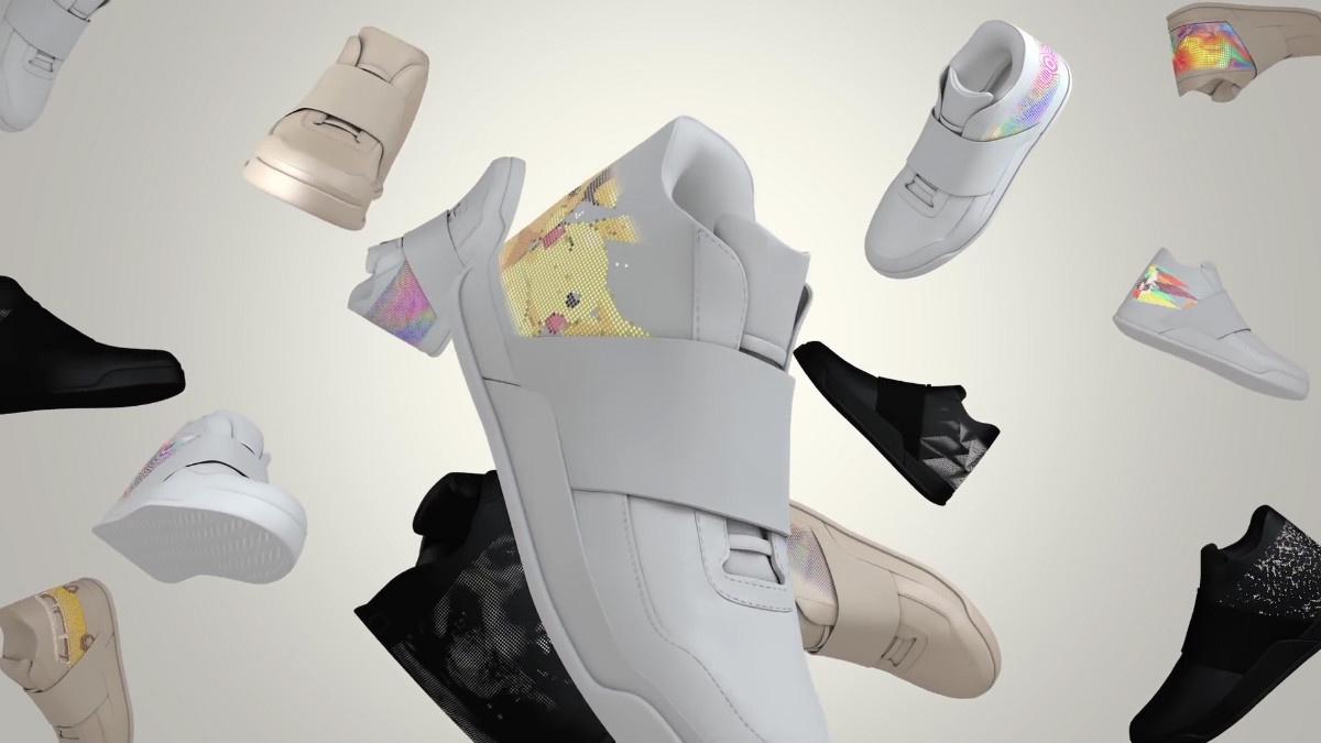 Des chaussures qui affichent les pokémons attrapés !