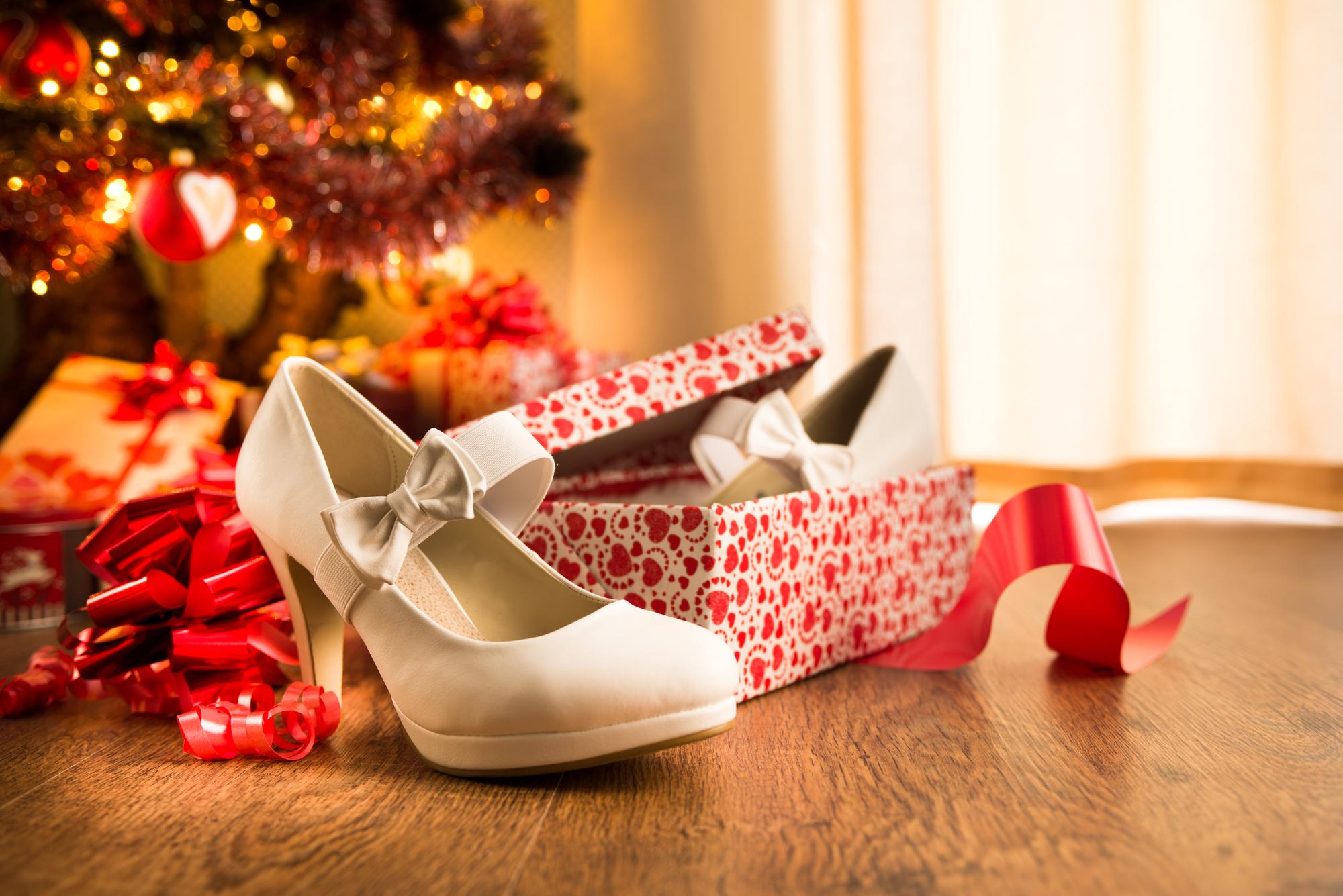Les chaussures pour les fêtes de fin d'année
